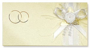 Весільне запрошення ручної роботи